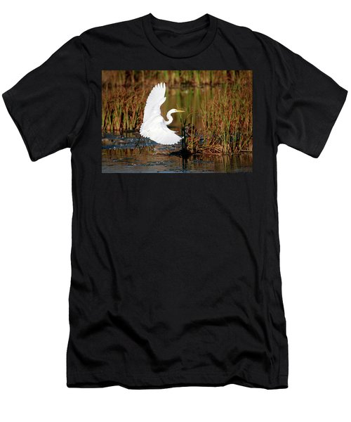 Wetland Landing Men's T-Shirt (Athletic Fit)