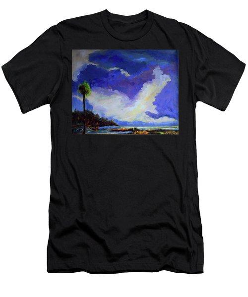 Wetlands Sky  Men's T-Shirt (Athletic Fit)
