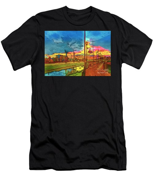 Weyburn  In The Colors Of The Rainbow. Men's T-Shirt (Athletic Fit)
