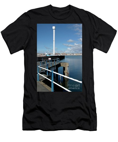 Weymouth Pavillion Pier And Tower Men's T-Shirt (Slim Fit) by Baggieoldboy