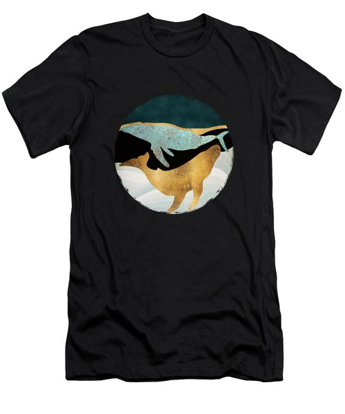 Whale Song Men's T-Shirt (Athletic Fit)