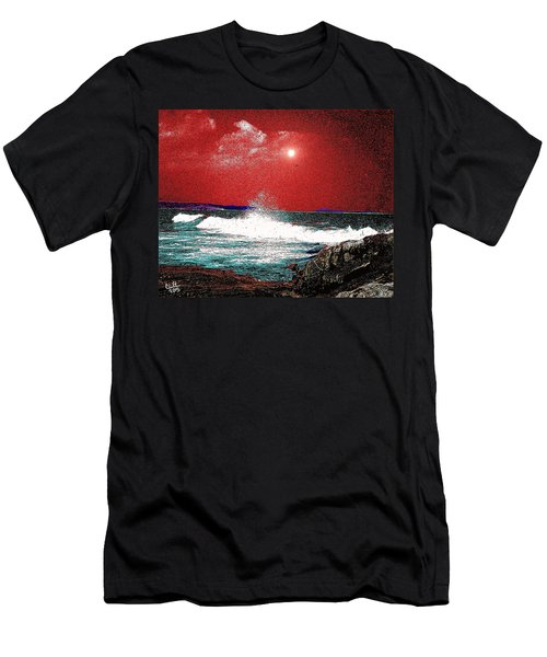 Whaleback At Peaks Island Maine Men's T-Shirt (Athletic Fit)
