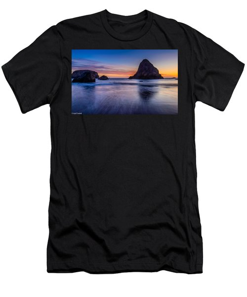 Whaleshead Beach Sunset Men's T-Shirt (Athletic Fit)