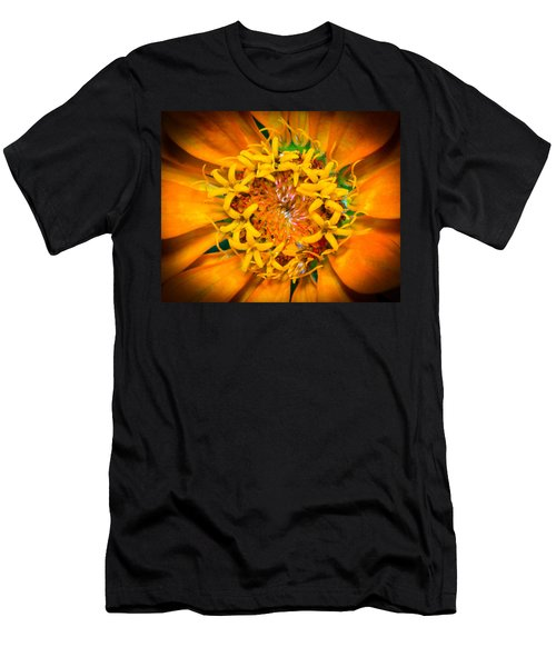 What A Bee Sees Men's T-Shirt (Athletic Fit)
