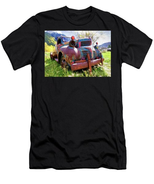 What A Great Time To Retire  Men's T-Shirt (Athletic Fit)