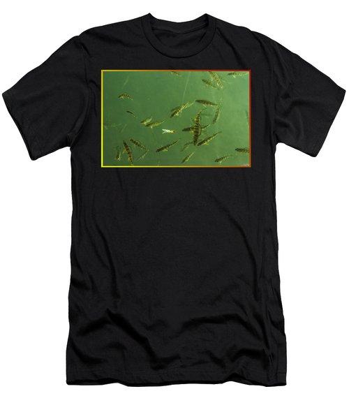 What A Line Men's T-Shirt (Athletic Fit)
