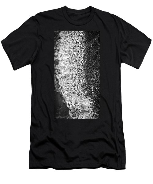 What Are Waves, Black And White Men's T-Shirt (Athletic Fit)