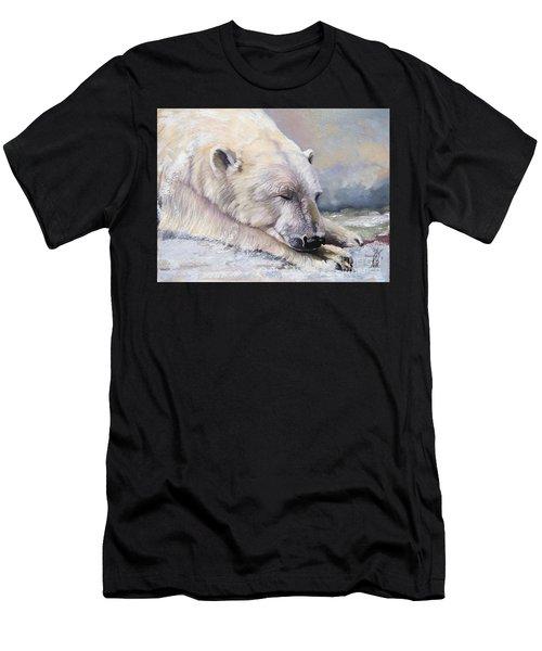 What Do Polar Bears Dream Of Men's T-Shirt (Athletic Fit)