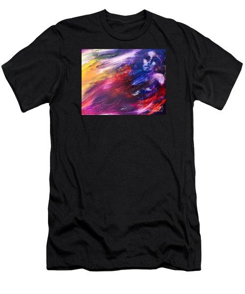 What Hides  Men's T-Shirt (Athletic Fit)