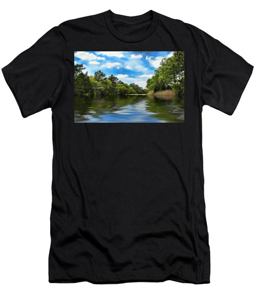 What I Remember About That Day On The River Men's T-Shirt (Athletic Fit)