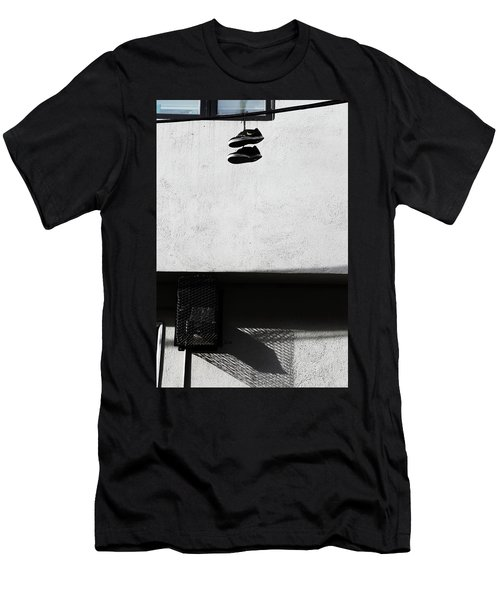 Men's T-Shirt (Slim Fit) featuring the photograph What That For Me  by Empty Wall