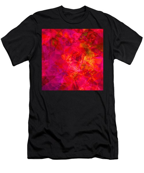 Men's T-Shirt (Slim Fit) featuring the digital art What The Heart Wants by Wendy J St Christopher