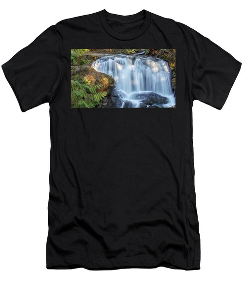 Whatcome Falls Men's T-Shirt (Athletic Fit)