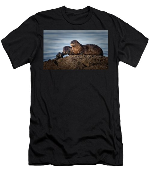 Men's T-Shirt (Slim Fit) featuring the photograph Whats For Dinner by Randy Hall