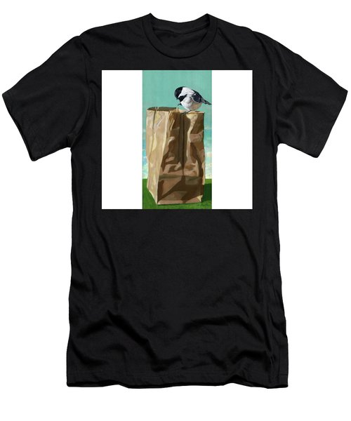What's In The Bag Original Painting Men's T-Shirt (Athletic Fit)