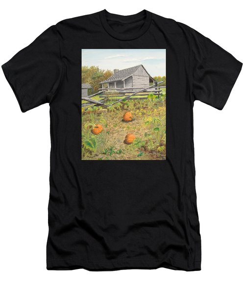 What's Left Of The Old Homestead Men's T-Shirt (Athletic Fit)