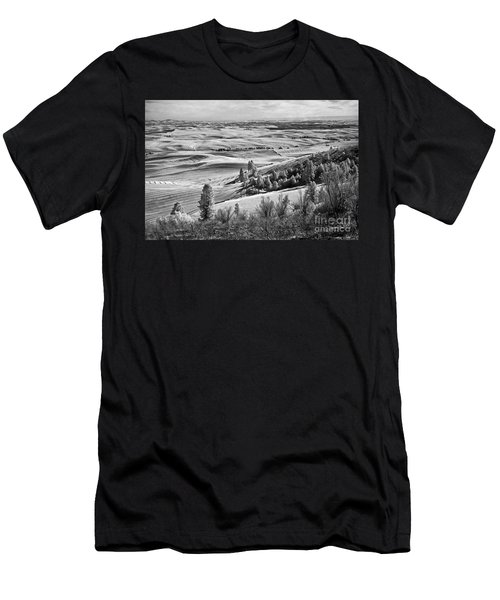 Wheatfields Of Kamiak Butte Men's T-Shirt (Athletic Fit)