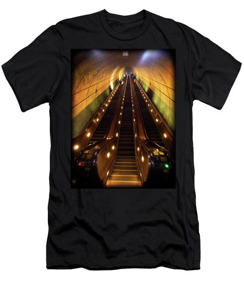 Wheaton Escalator Men's T-Shirt (Athletic Fit)