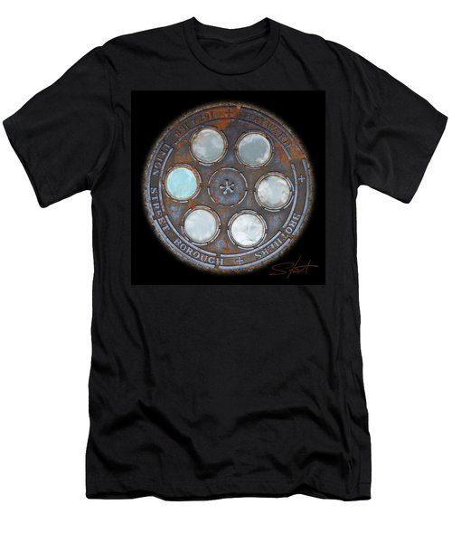 Wheel 2 Men's T-Shirt (Athletic Fit)