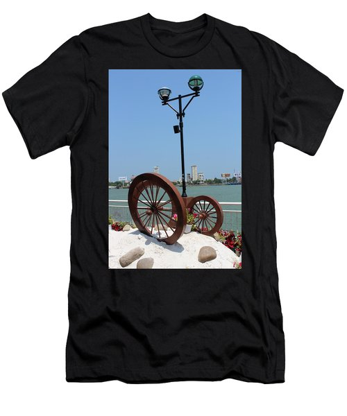 Wheels By The Water Men's T-Shirt (Athletic Fit)