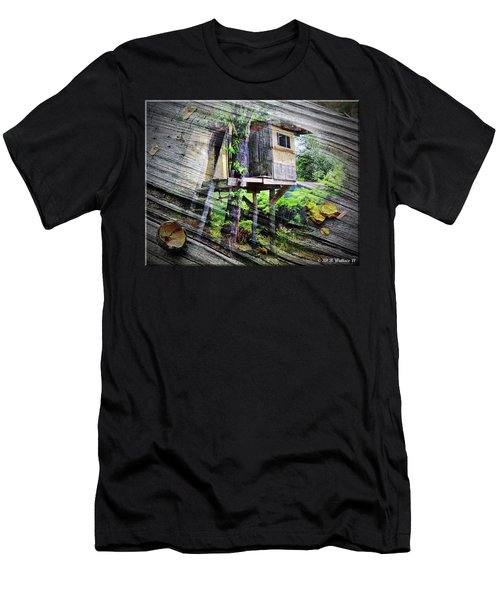 Men's T-Shirt (Slim Fit) featuring the photograph When Boys Dream by Brian Wallace