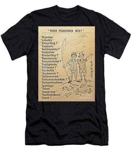 When Fishermen Meet Men's T-Shirt (Athletic Fit)