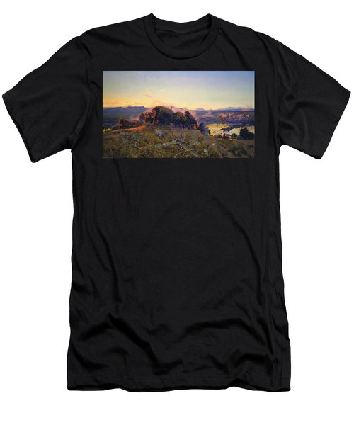 When The Land Belonged To God Men's T-Shirt (Athletic Fit)