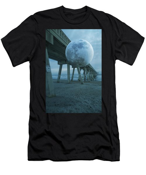 Waning Moon Men's T-Shirt (Athletic Fit)