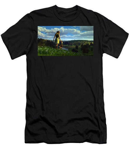 When The Sparrows Sing Men's T-Shirt (Athletic Fit)