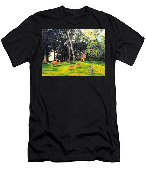 When World's Collide Men's T-Shirt (Athletic Fit)