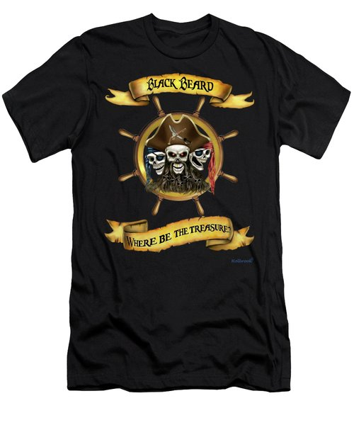 Where Be The Treasure? Men's T-Shirt (Athletic Fit)