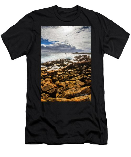 Where Distant Waves Break Men's T-Shirt (Athletic Fit)