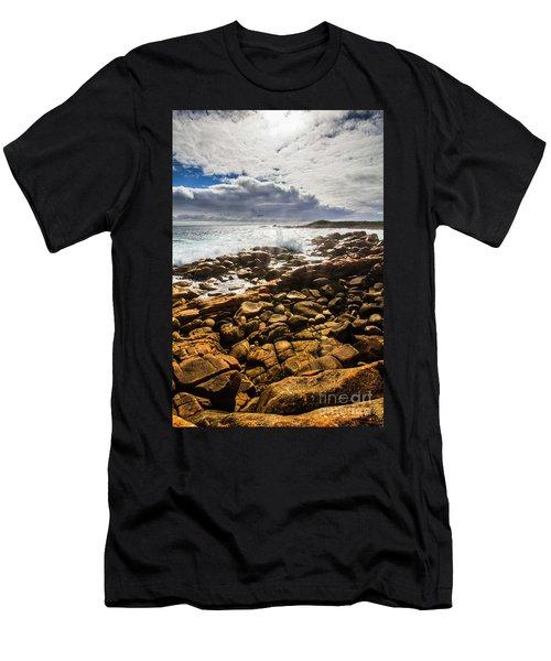 Where Distant Waves Break Men's T-Shirt (Athletic Fit)