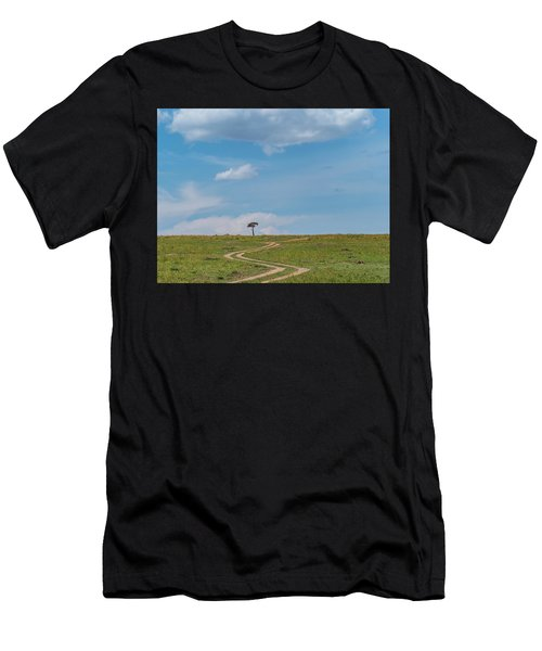 Where Does It Lead To Men's T-Shirt (Athletic Fit)