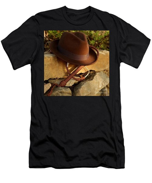 Where Is Indiana? Men's T-Shirt (Athletic Fit)