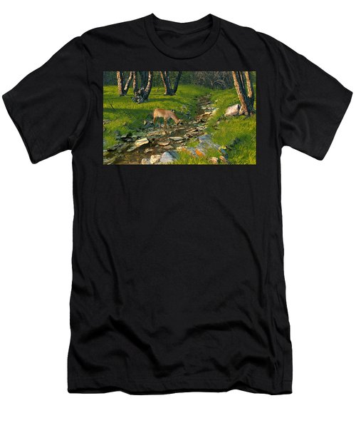Where The Buck Stops Men's T-Shirt (Athletic Fit)