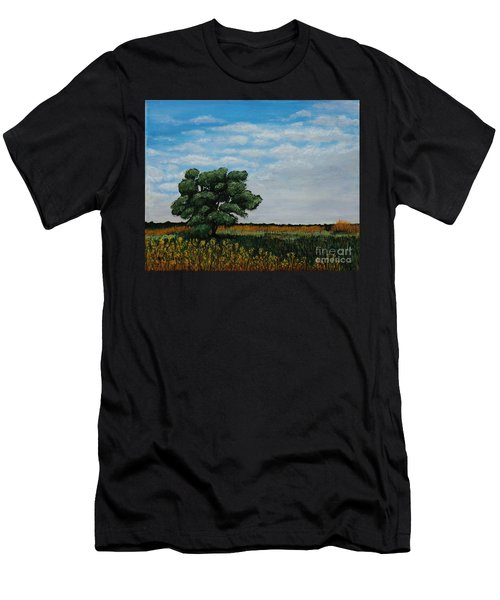Where The Fields Meet Men's T-Shirt (Athletic Fit)