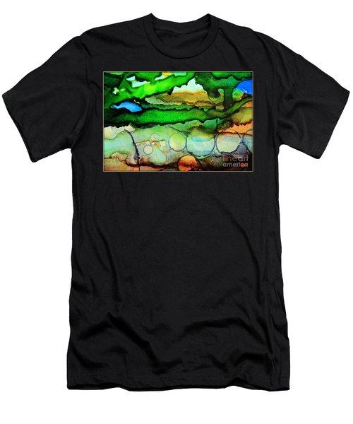 Where The Rivers Flow.. Men's T-Shirt (Athletic Fit)