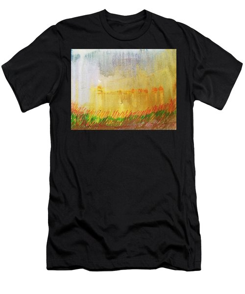 Where The Tall Grass Grows Men's T-Shirt (Athletic Fit)