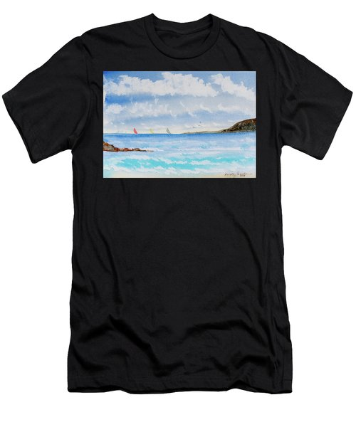 Where There's A Wind, There's A Race Men's T-Shirt (Athletic Fit)