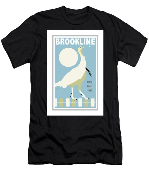 Where Turkeys Dream Men's T-Shirt (Athletic Fit)