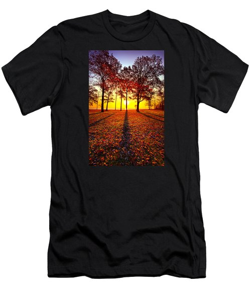 Where You Have Been Is Part Of Your Story Men's T-Shirt (Athletic Fit)