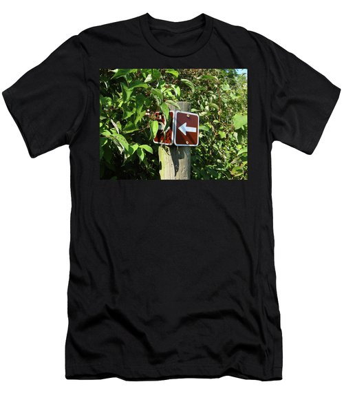 Which Way Men's T-Shirt (Athletic Fit)