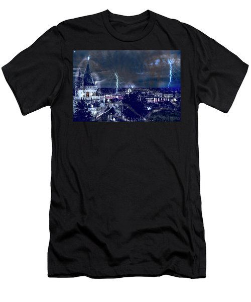 Whimsical Budapest Men's T-Shirt (Athletic Fit)