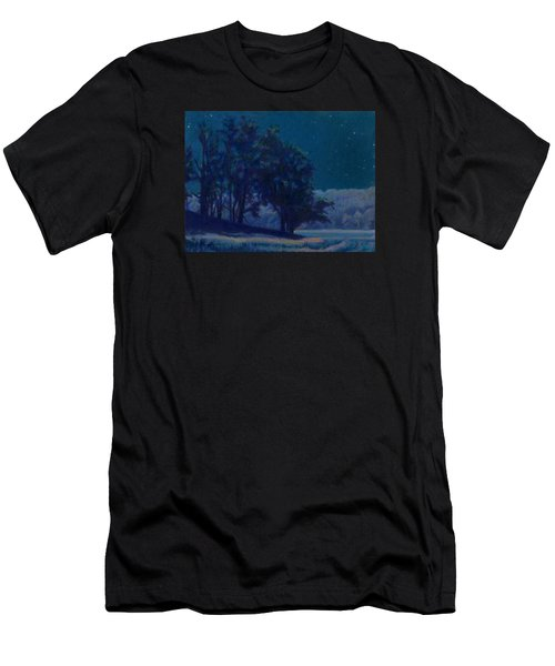 Whip-poor-will Nights Men's T-Shirt (Athletic Fit)