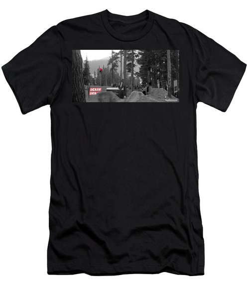 Whipoff In Red Men's T-Shirt (Athletic Fit)