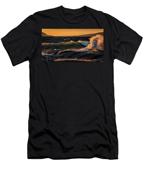 Men's T-Shirt (Athletic Fit) featuring the photograph Whipped by Doug Gibbons