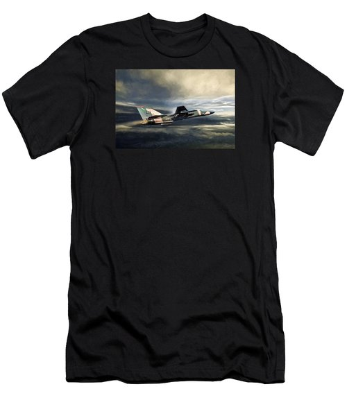 Whispering Death F-111 Men's T-Shirt (Athletic Fit)