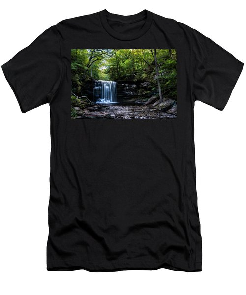Whispering Falls Men's T-Shirt (Athletic Fit)