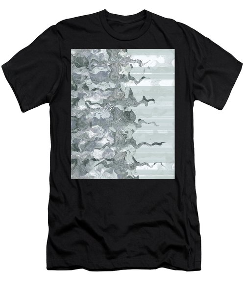 Men's T-Shirt (Slim Fit) featuring the digital art Whispers In The Fog by Wendy J St Christopher